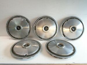 Lincoln Continental Used Hubcap Hub Cap Wheel Cover Set 5