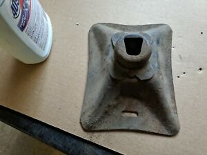 1955 1956 1957 Chevy Bumper Jack Base Only Oem Original Used