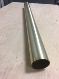 Polished 304 Stainless Steel Tube 1 1 4 X 095 X 36