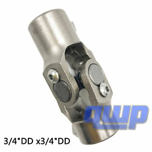 New 3 4 Dd X 3 4 Dd Double D Steering U Joint Coupler Column Universal