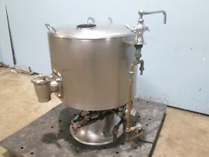 vulcan Ksh 20 Heavy Duty Commercial Direct Steam 20gal Steam Jacketed Kettle