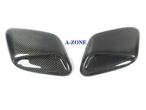 Subaru Impreza Hood Vent Carbon Induction Scoop For 99 01 Gc8 Sti Wrx 2 5rs