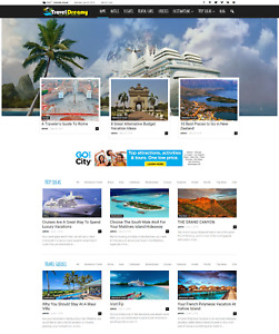 Established Profitable Complete Business Fully Automated Turn key Travel Website