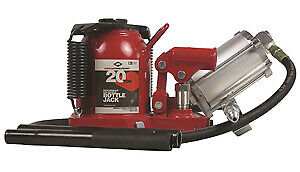 Aff American Forge 5621sd 20 Ton Low Profile Sd Air hydraulic Bottle Jack