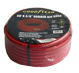 Grip On Tools 12709 50 X 1 2 X 1 2 Npt Goodyear Air Hose Red