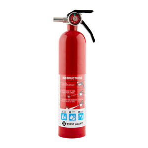 First Alert Rechargeable Home Fire Extinguisher Ul Rated 1 a 10 b c
