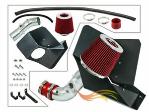 Bcp Red Heat Shield Cold Air Intake Kit Filter For 09 17 Corolla 16 17 Im 1 8l