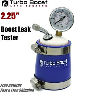 2 25 Inch Turbo Boost Leak Tester Universal 30 Psi Gauge Free Shipping