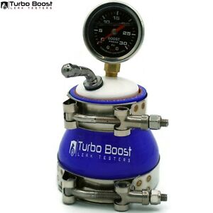 3 Turbo Boost Leak Tester 30psi Stainless Gauge Tbolt Clamps Fast Free Ship