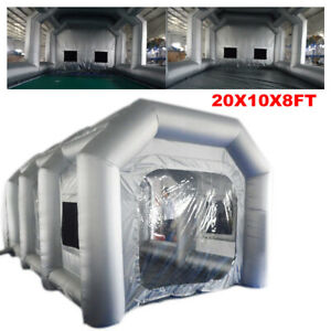 Inflatable Spray Booth Paint Tent Mobile Portable Car Workstation Popular Style