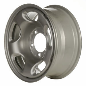 08010 Oem Reconditioned Steel Wheel 16x7 Medium Silver Sparkle Full Face Painted