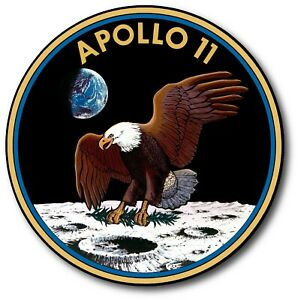 Nasa Apollo 11 Military Armed Forces Decal Sticker Usa Truck Vehicle Window Car