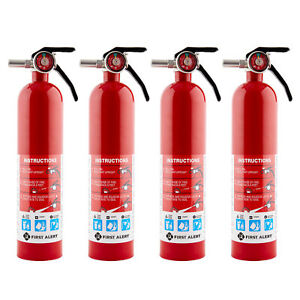 First Alert Home Fire Extinguisher 4 Pack Rated 1 a 10 b C Model Home1