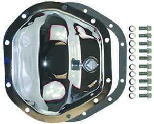 Chrome Steel Jeep Chevy Dodge 10 Bolt Dana 44 Differential Cover Kit W Bolts