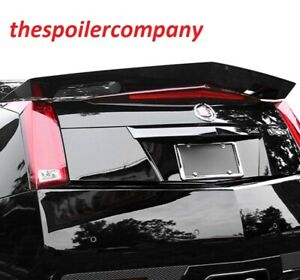 Painted Large Custom Rear Spoiler For 2011 2014 Cadillac Cts V Type 2dr Coupe