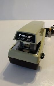 Vintage Panasonic Commercial Electric Stapler As 300 Adjustable Depth Tested