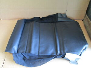 New Genuine Vw Golf Cabriolet Front Seat Base Cover Recaro 1e0881405bckwa