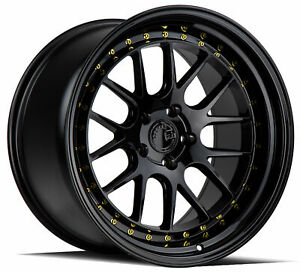 18x9 5 Aodhan Ds06 5x114 3 22 Gloss Black Rims set Of 4