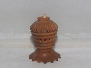 Antique Vegetable Ivory Sewing Thread Ribbon Holder Tool