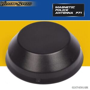 Black Magnetic Police Antenna P71 Crown Victoria Impala 4 1 2 X 1 3 4 High Q