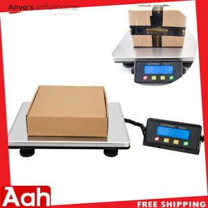 440lb Postal Scale Digital Shipping Electronic Mail Packages Capacity 200kg 100g