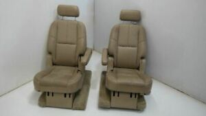 07 08 09 10 11 12 13 14 Yukon Denali Rear Seats 2nd Second Row Tan