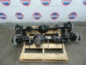2019 Jeep Wrangler Jl Rubicon Front And Rear Axles 4 10 Set Oem