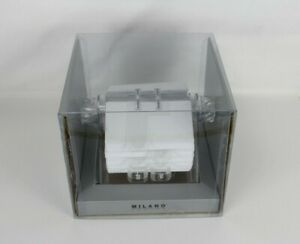 Milano Series Twist Card File Address Phone Business Clear Revolving