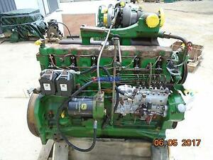 John Deere 404t early Oem Engine Complete Good Running A Esn 6404th 01 50785