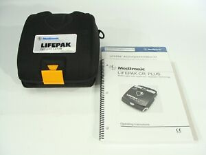 Physio control Lifepak Cr Plus Semi automatic Aed New Pads Battery Case