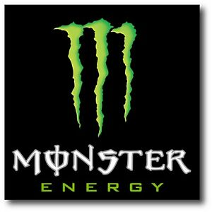 Monster Energy Logo Usa Made Decal Sticker 3m Truck Vehicle Window Wall Car