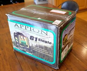 Appion G1 Single Refrigerant Recovery Machine New Open Box