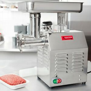 Commercial Electric Meat Grinder Countertop Beef Sausage Stuffer Food Processor