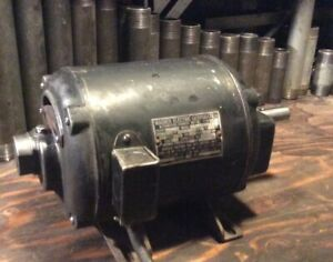 Vtg Wagner Electric Induction Repulsion Motor 3 4 Hp 1725 Rpm 115 230 V Antique