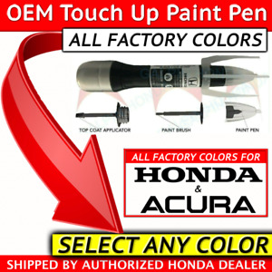 Genuine Oem Acura Honda Touch Up Paint Select Your Color All Colors 08703