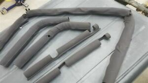 Jeep Tj Wrangler Oem Roll Bar Padding And Covers Black 97 02 9512