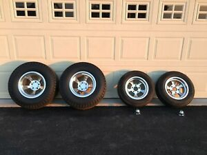 Set Of 4 Et Wheels And Firestone Dragster Tires 1932 Ford Hot Street Rod