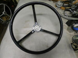 1958 1960 Thunderbird Steering Wheel Horn Button