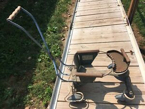 Vintage Metal Baby Stroller Walker 50s 60s Windstream Taylor Tot Made In Usa P60