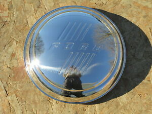 1946 Ford Hubcap W Ford Script Set Of 4 Brand New