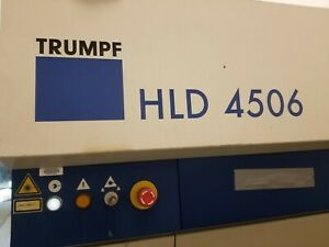 Trumpf Hld Laser Replacement Parts With Warranty