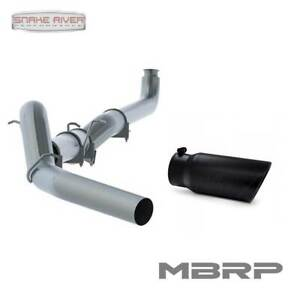 Mbrp 5 Exhaust For 2001 2007 Chevy Gmc Duramax Diesel 6 6l With Black Tip