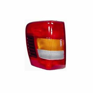 2002 2004 Jeep Grand Cherokee Driver Left Side Rear Back Lamp Tail Light