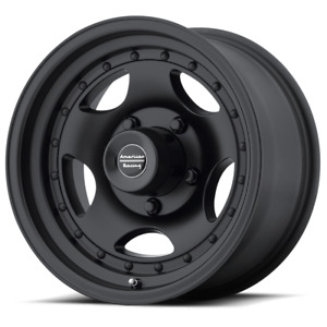 4 14 Inch 14x7 American Racing Ar23 Black Rims Wheels 5 Lug 5x4 5