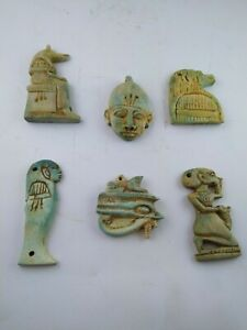 Collection Rare Ancient Egyptian Antique Amulet 1856 1569 Bc 2