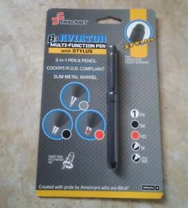 Skilcraft B3 Aviator Multi function Pen With Stylus