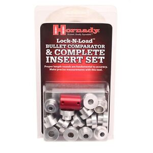 Hornady Lock-N-Load Bullet Comparator Complete Set with 14 Inserts~B14