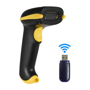 Aibecy Barcode Scanner 3 In 1 Automatic Handheld 2d 1d Bar Code Scanner B4s2