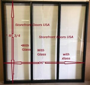 Storefront Glass Window Office Partition