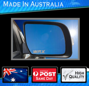 Mirror Decal To Suit Subaru Wrx Set Of 3 Highest Quality Avery Semi Transparent